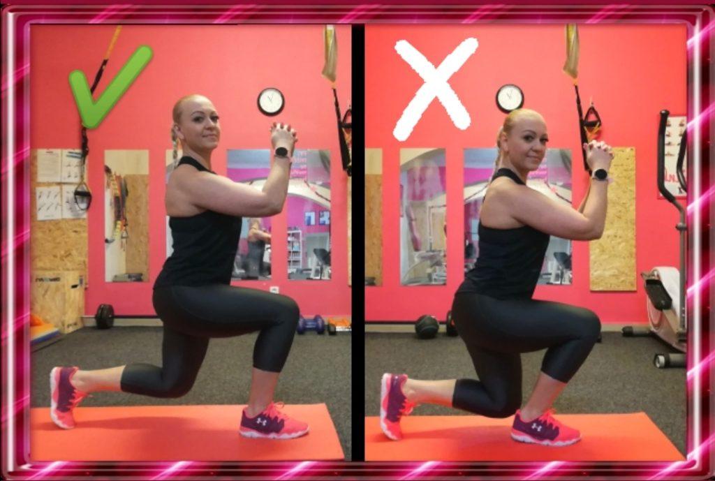 Výpady předvede a naučí Ivča v AURA Fitness.